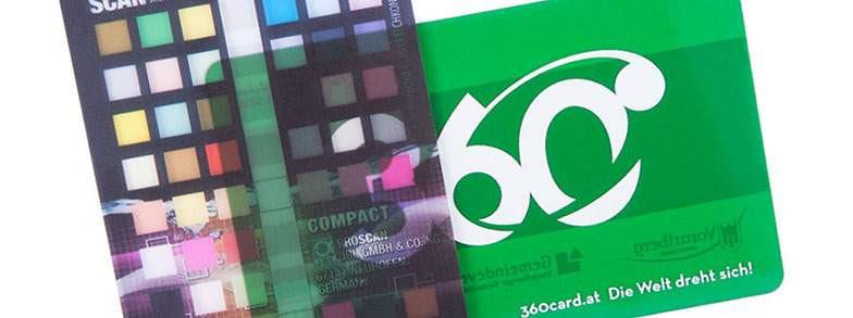 Plastikkarten | Famo Druck AG, Alpnach